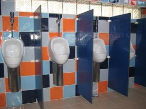 Divisórias Fenólicas Mictórios WC