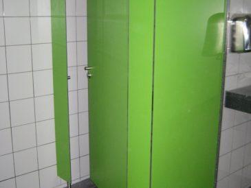 Cabines Santitárias Fenólicas, Verdes