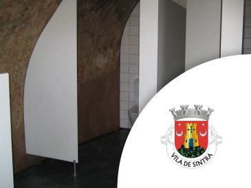 Palais de Pena, Cabines sanitaires stratifiées | Mestria - Compactos Fenólicos, Lda.