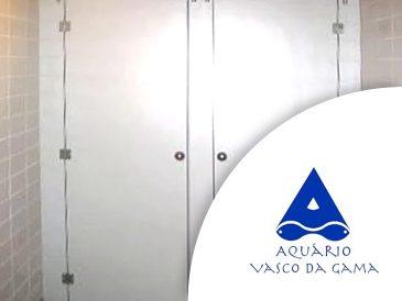 Cabines Fenólicas, Instalações Sanitárias - Aquário Vasco da Gama