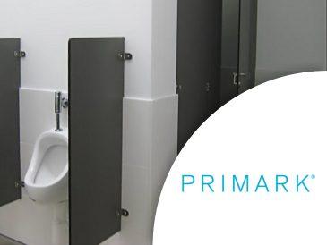 Primark - Divisórias e Cabines Sanitárias Fenólicas - Mestria