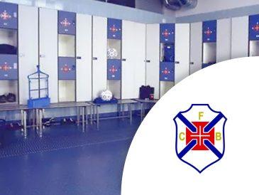 Cacifos Desportivos Fenólicos - Clube de Futebol Os Belenenses | Mestria - Compactos Fenólicos