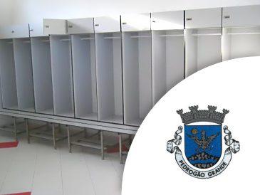 Cabines Fenólicas - Estádio Municipal Pedrogão Grande