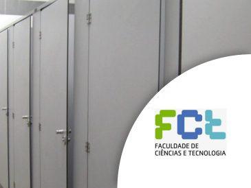 Cabines e Divisórias Fenólicas - Faculdade de Ciências e Tecnologia de Lisboa | Mestria - Compactos Fenólicos